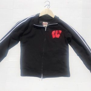 J. America University of Wisconsin Full Zip Jacket